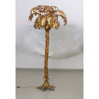 9347959b5cc72 Huge gilt metal palm tree floor lamp hans kogl