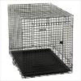 Kennel aire black professional fold and carry wire dog kennel