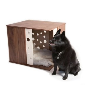 Line of modern dog crate furniture prlog apoochment s wood