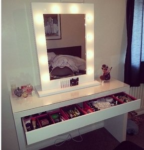 bedroom mirrors with lights makeup vanity table with lights foter 14354