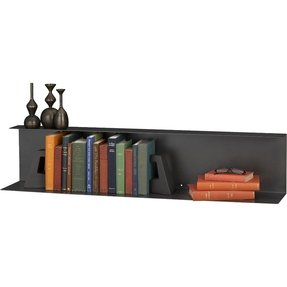 Metal wall mounted shelves 26