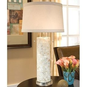 Mother of pearl lamp 1