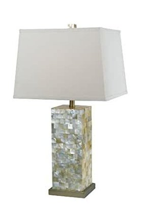 Mother of pearl lamp 27