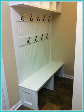 Mudroom benches 1