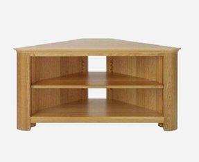 oak corner tv stand - Corner Tv Stands For Flat Screens