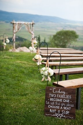Rustic outdoor benches 6