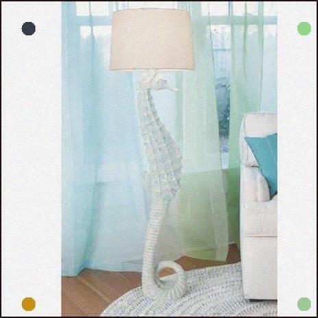 Merveilleux Seahorse Lamp 21