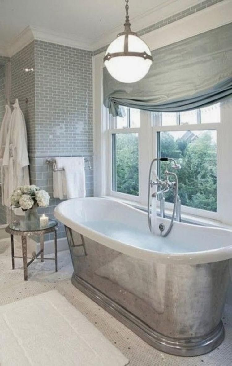 Silver Bathtub - Foter