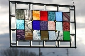 Stained glass panels for sale 7