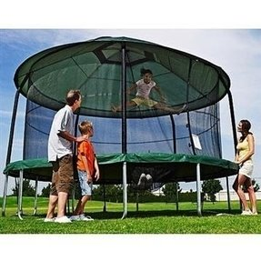 Trampoline and tent cover