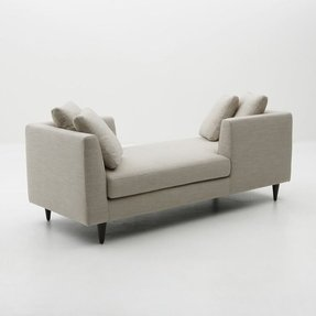Two sided chaise lounge