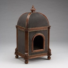 18th century reproduction dog kennel a real showpiece notice the