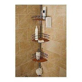 Teak Corner Shower Caddy Foter