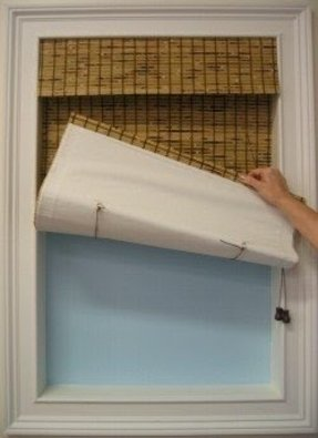Blackout Liner For Bamboo Shades Foter