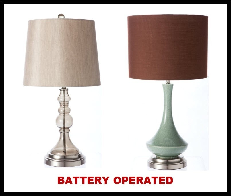 Superior Battery Operated Lamps