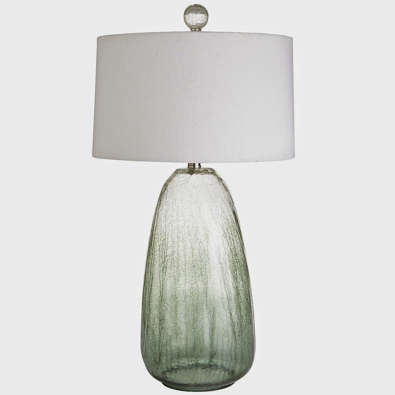 Merveilleux Birch Lanes Linden Glass Table Lamp Is A Stunning Gourd