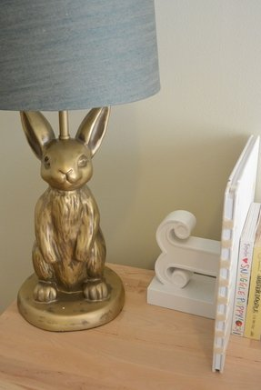 creativecoop bunny lamp the creative thesev op co buynow by
