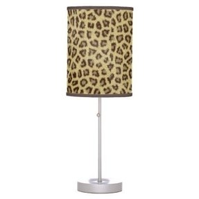 Cheetah lamp shade 15