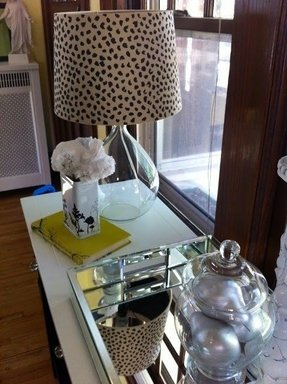 Cheetah lamp shade 21