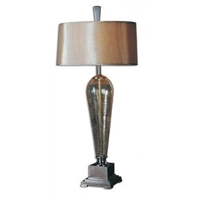 Crackle glass table lamp 19