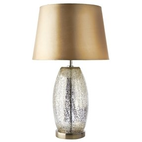 Crackle glass table lamp 21