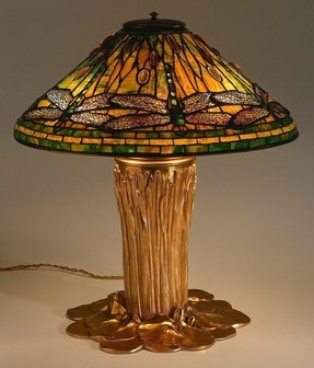Dragonfly tiffany lamp stained glass table lamp foter dragonfly table lamps aloadofball Gallery