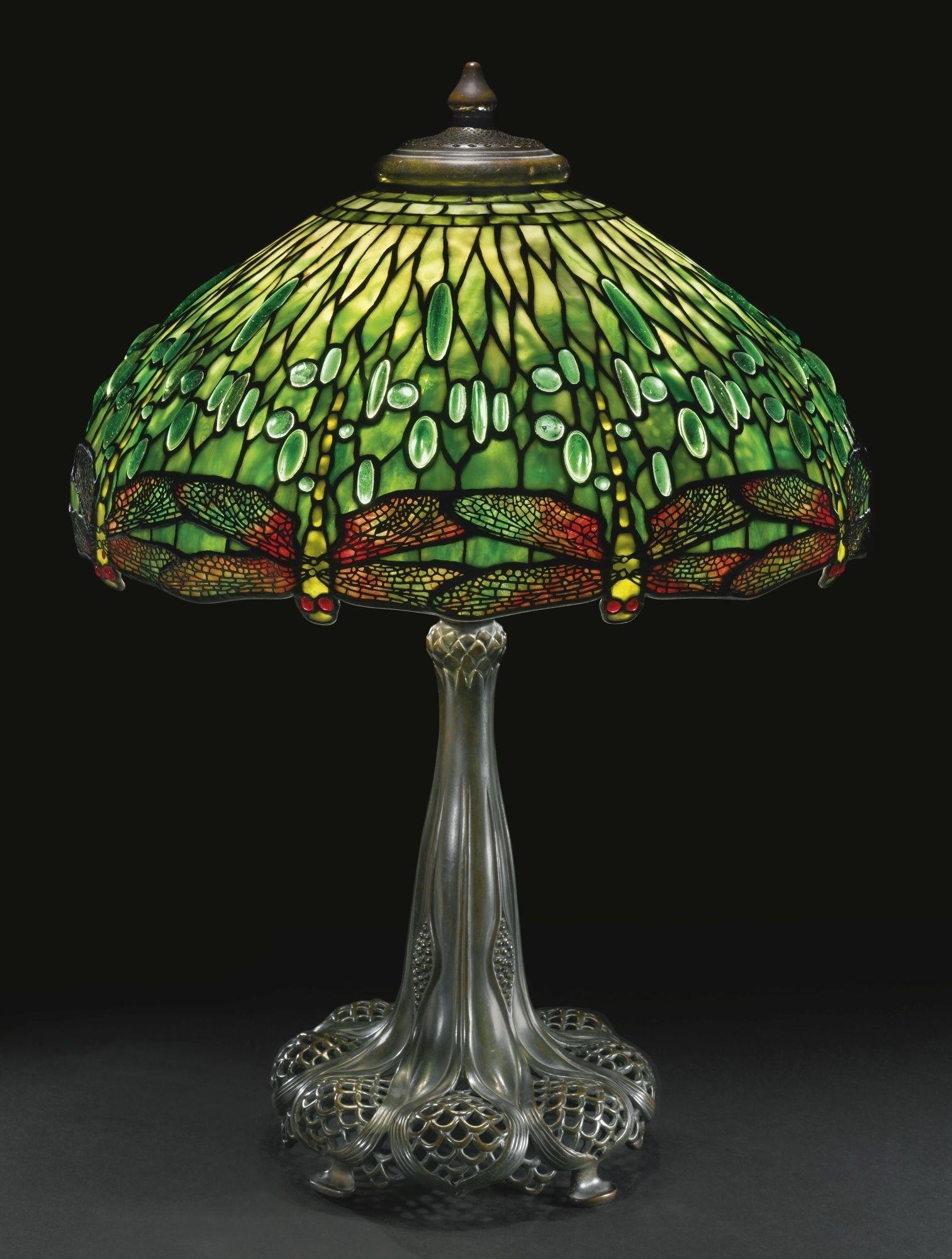 Dragonfly Tiffany Lamp 2