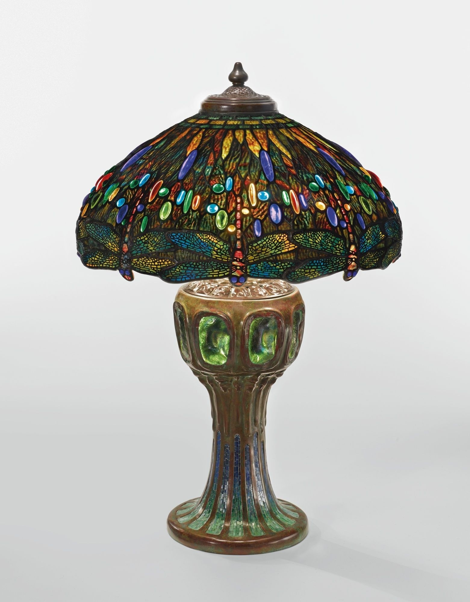 Dragonfly Tiffany Lamp Stained Glass Table Lamp 6