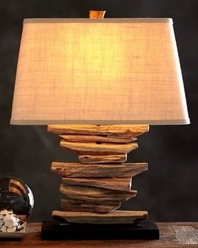 Driftwood Lamp Foter