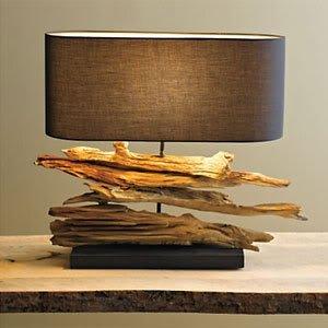 High Quality Driftwood Lamps Coastal Lighting