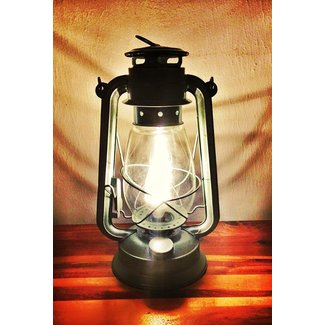 Electric lantern table lamp large size