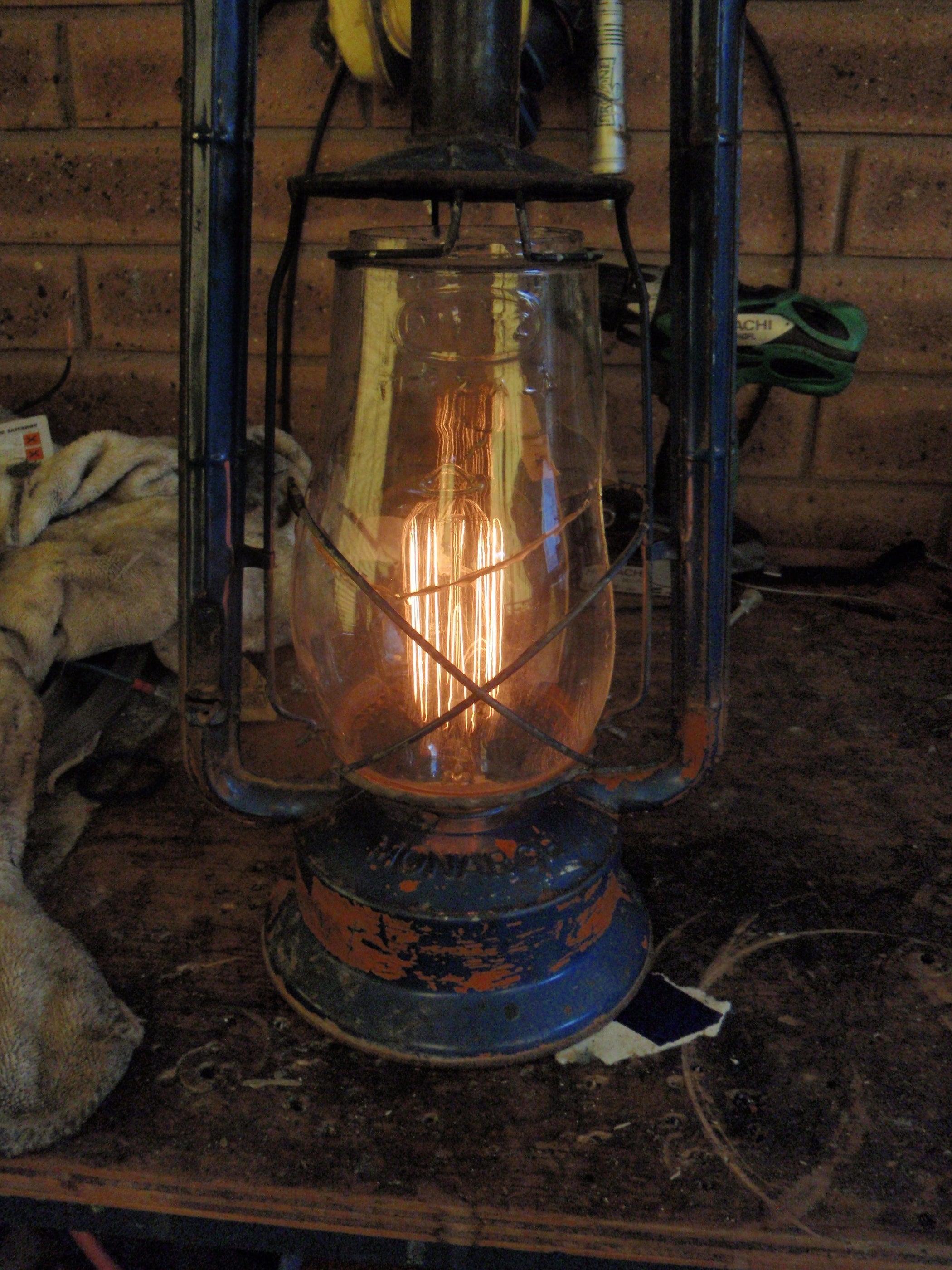 Marvelous Electric Lantern Table Lamps