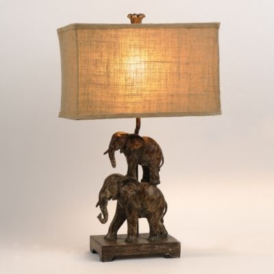 Beau Elephant Table Lamp 22
