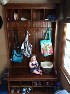 Small Hall Tree Bench Foter