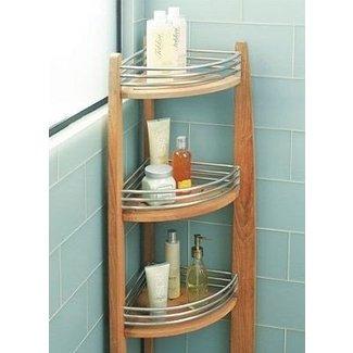 Teak Corner Shower Caddy Ideas On Foter