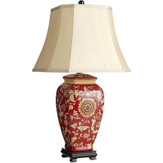 Ginger jar lamp shade