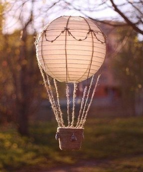 Hot Air Balloon Lamp Foter
