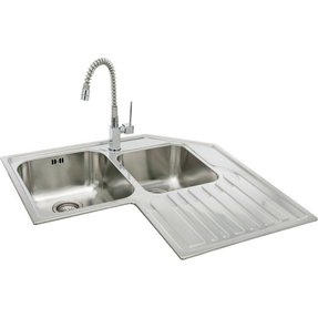 corner undermount kitchen sink corner kitchen sinks undermount foter 5875