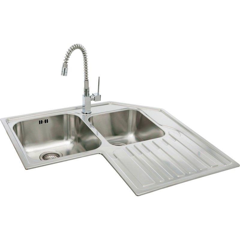 Kitchen Sinks Carron Lavella Sink 888 Corner Kitchen Sink