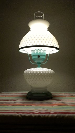 Vintage Milk Glass Lamp Ideas On Foter