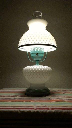 Vintage Milk Glass Lamp For 2020 Ideas On Foter