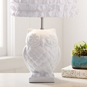 Owl lamps for nursery