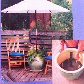Patio umbrella stands foter patio umbrella stands 4 diy patio umbrella 1 solutioingenieria Image collections