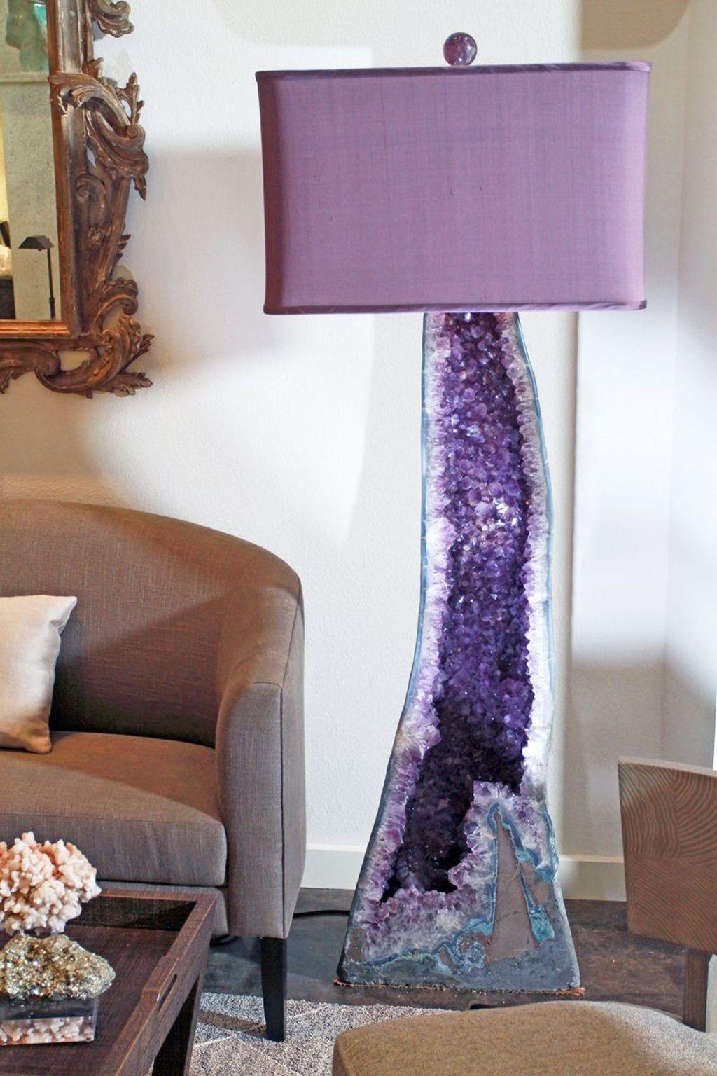 Purple Lamp Shades