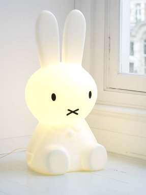 Rabbit lamp foter rabbit table lamp aloadofball Image collections