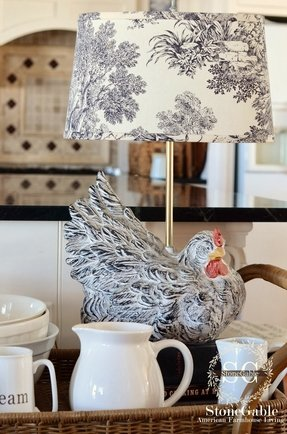 Rooster lamp 35
