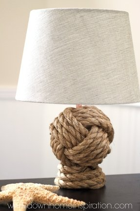 Rope Lamp Base Foter