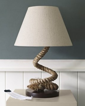 Rope lamp base 19