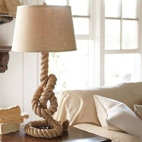 Rope lamp base 4