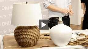Rope lamp base 6